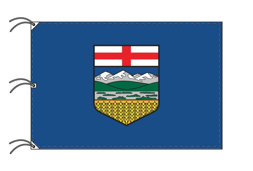 アルバータ州の旗 カナダ州の旗 州旗 140×210cm