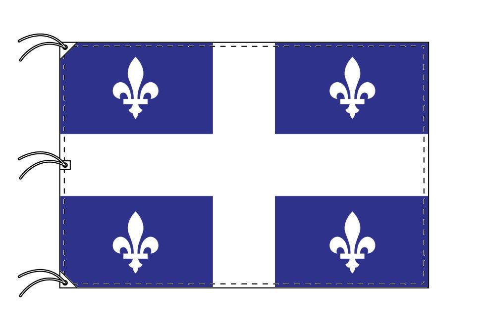 ケベック州 カナダ州の旗 州旗 140×210cm