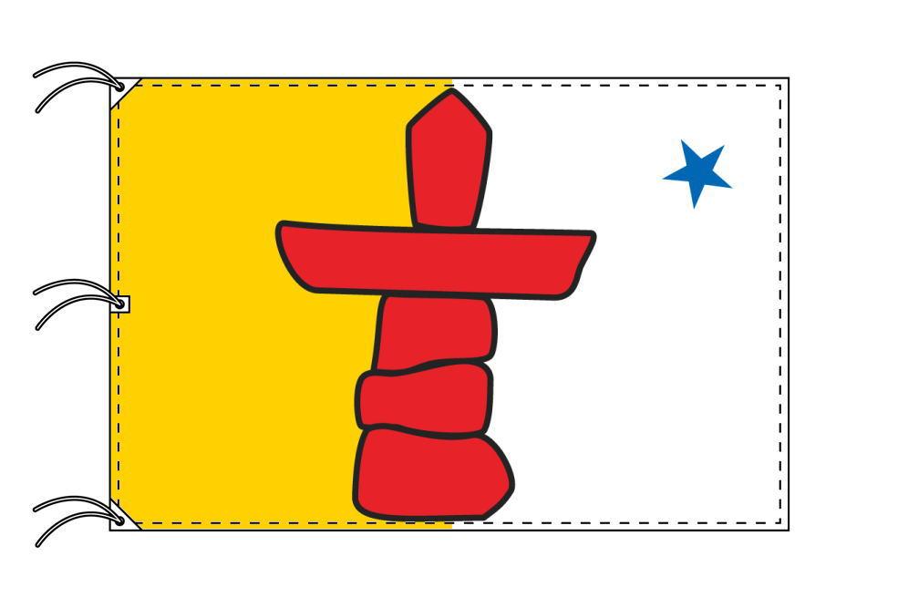 ヌナブト準州 カナダ州の旗 州旗 140×210cm