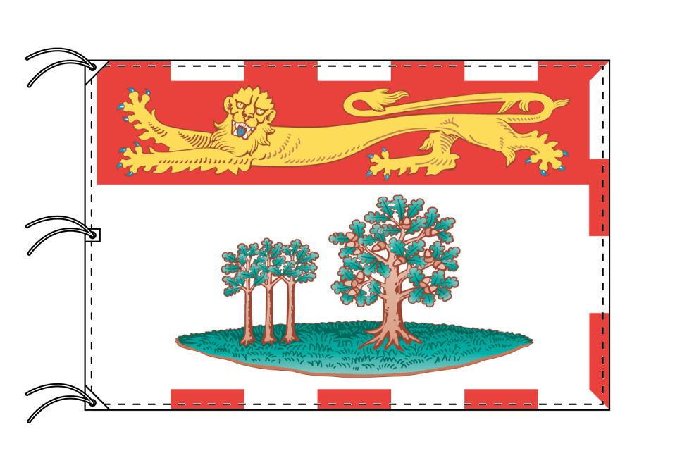 プリンスエドワード州 カナダ州の旗 州旗 140×210cm