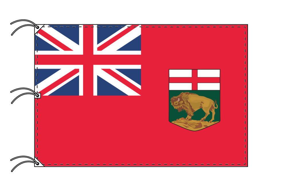 マニトバ州 カナダ州の旗 州旗 140×210cm