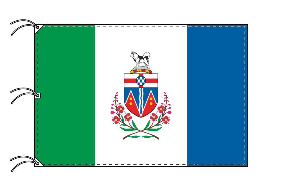 ユーコン準州 カナダ州の旗 州旗 140×210cm