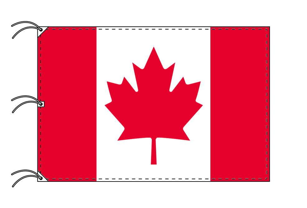 世界の国旗 カナダ国旗[200×300cm・高級テトロン製]NO.6号