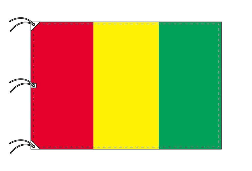 世界の国旗 ギニア国旗[200×300cm・高級テトロン製]NO.6号