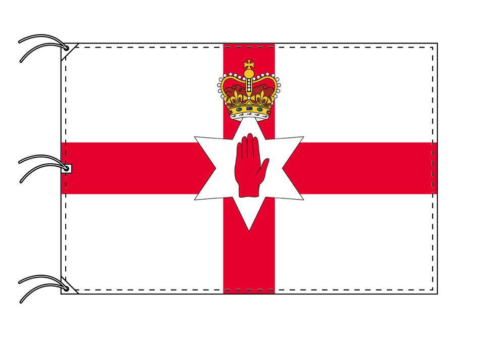 北アイルランド国旗[200×300cm・高級テトロン製]NO.6号