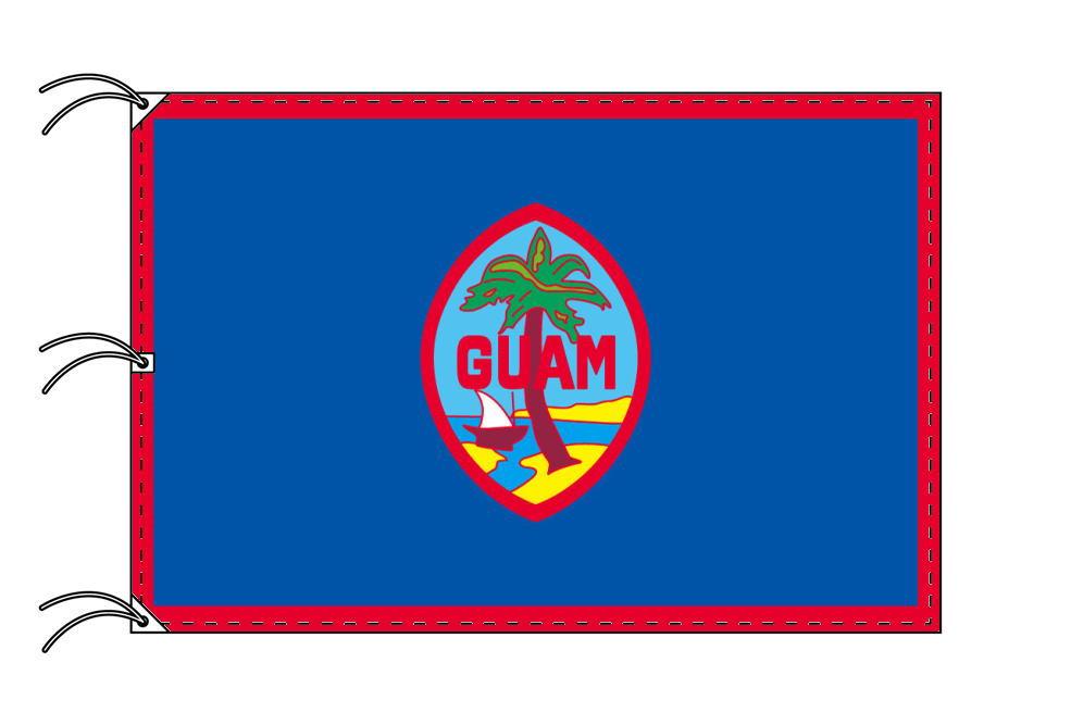 世界の国旗 グァム国旗[200×300cm・高級テトロン製]NO.6号