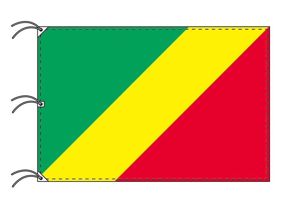 世界の国旗 コンゴ国旗[200×300cm・高級テトロン製]NO.6号