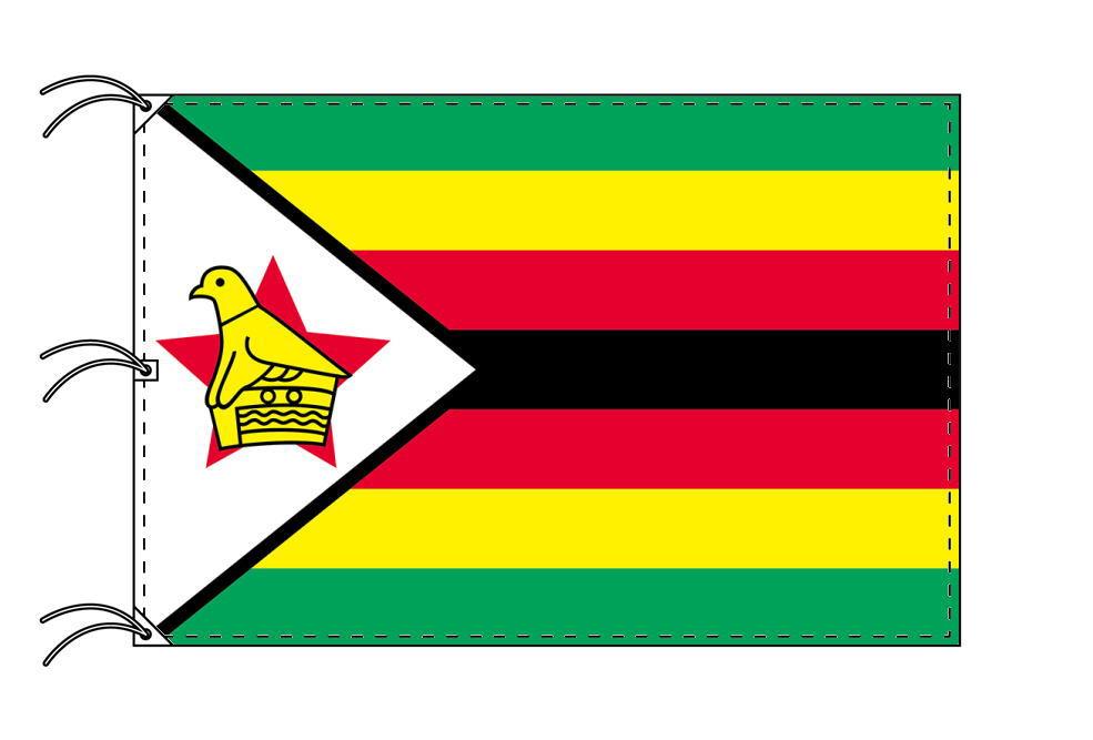 世界の国旗 ジンバブエ国旗[200×300cm・高級テトロン製]NO.6号