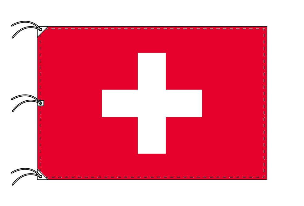 世界の国旗 スイス国旗[200×300cm・高級テトロン製]NO.6号
