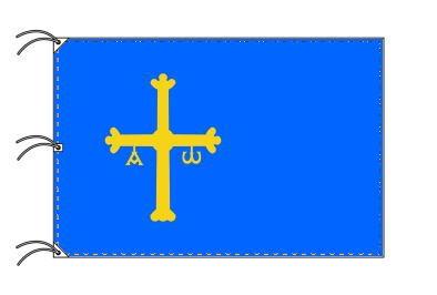 スペイン・自治州旗 アストゥリアス州(140×210cm・高級テトロン・日本製)