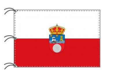 スペイン・自治州旗 カンタブリア州(140×210cm・高級テトロン・日本製)