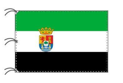 スペイン・自治州旗 エストレマドゥーラ州(140×210cm・高級テトロン・日本製)