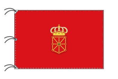 スペイン・自治州旗 ナバーラ州(140×210cm・高級テトロン・日本製)