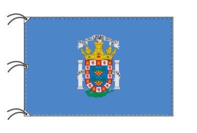 スペイン・自治州旗 自由都市 メリージャの旗(140×210cm・高級テトロン・日本製)