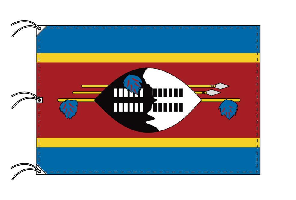 世界の国旗 エスワティニ(スワジランド)国旗[200×300cm・高級テトロン製]NO.6号