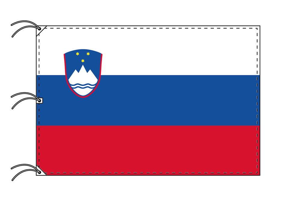 世界の国旗 スロベニア国旗[200×300cm・高級テトロン製]NO.6号