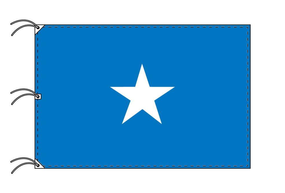 世界の国旗 ソマリア国旗[200×300cm・高級テトロン製]NO.6号