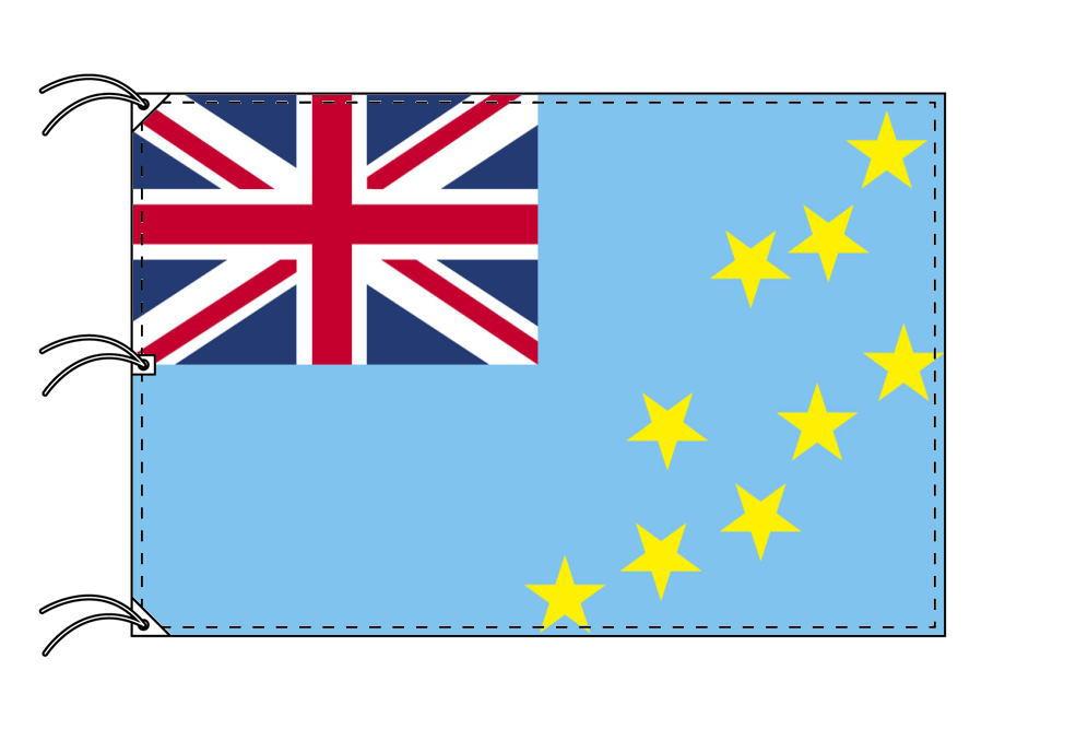 世界の国旗 ツバル国旗[200×300cm・高級テトロン製]NO.6号