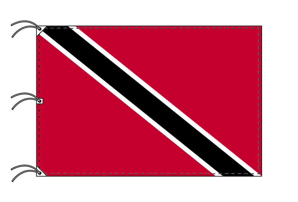 世界の国旗 トリニダードトバゴ国旗[200×300cm・高級テトロン製]NO.6号
