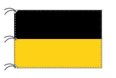 ドイツ・州旗 バーデン=ヴュルテンベルク州(140×210cm・高級テトロン・日本製)