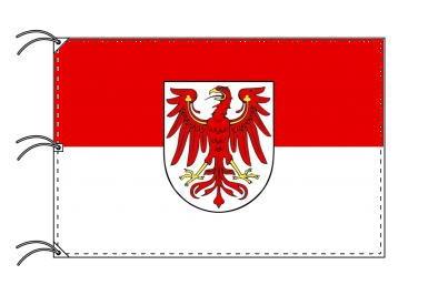 ドイツ・州旗 ブランデンブルク州(140×210cm・高級テトロン・日本製)
