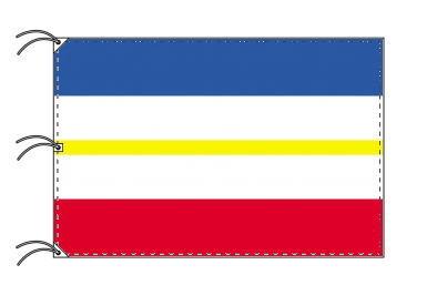 ドイツ・州旗 メクレンブルク=フォアポンメルン州(140×210cm・高級テトロン・日本製)