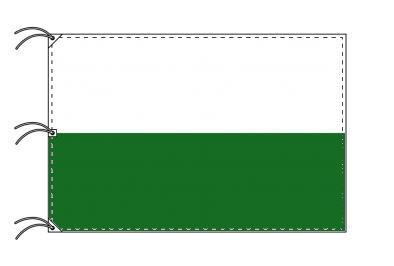 ドイツ・州旗 ザクセン自由州(140×210cm・高級テトロン・日本製)