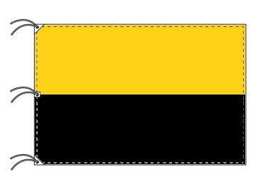 ドイツ・州旗 ザクセン=アンハルト州(140×210cm・高級テトロン・日本製)