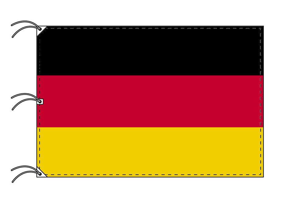 世界の国旗 ドイツ国旗[200×300cm・高級テトロン製]NO.6号