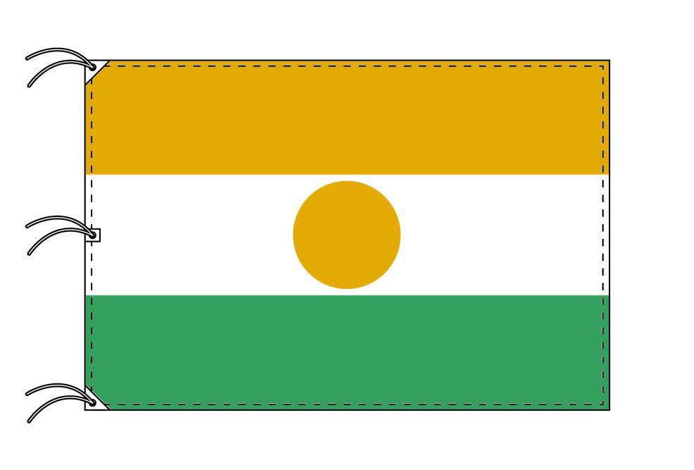 世界の国旗 ニジェール国旗[200×300cm・高級テトロン製]NO.6号