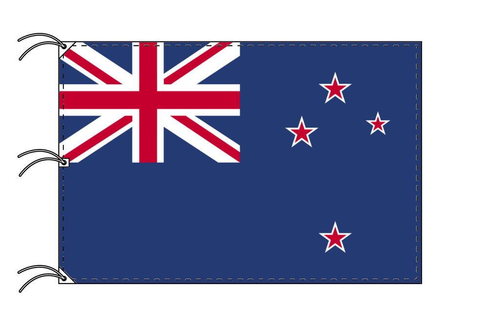 世界の国旗 ニュージーランド国旗[200×300cm・高級テトロン製]NO.6号