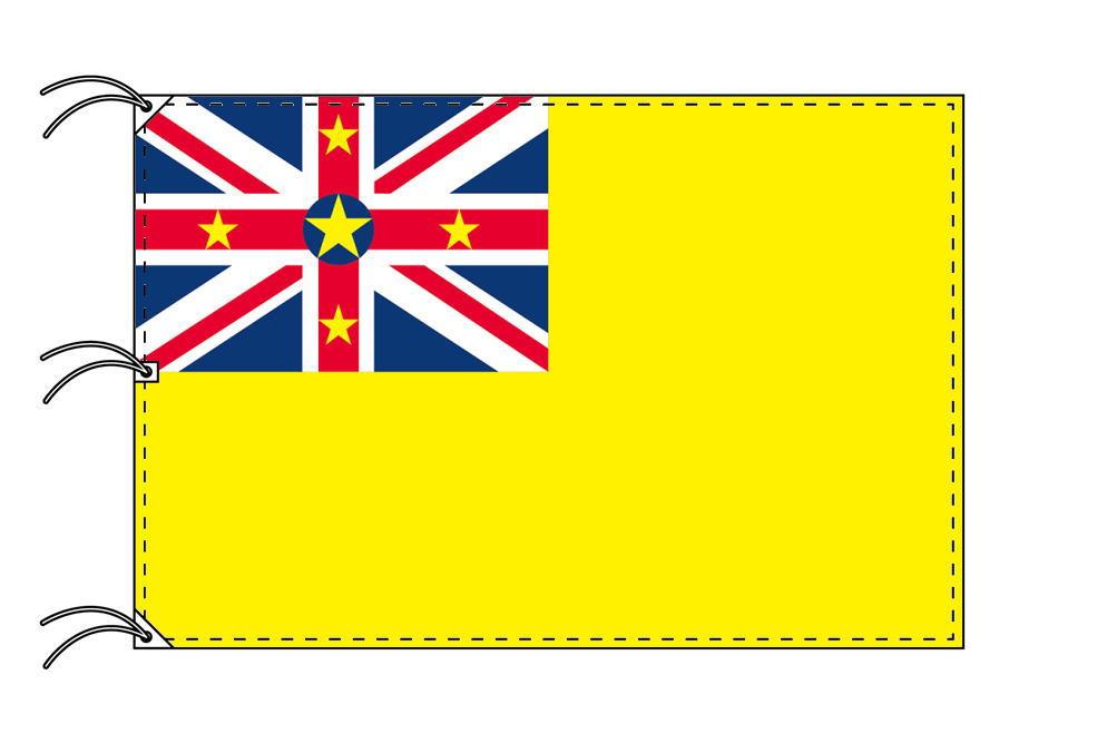 世界の国旗 ニウエ国旗[180×270cm・高級テトロン製]NO.5号