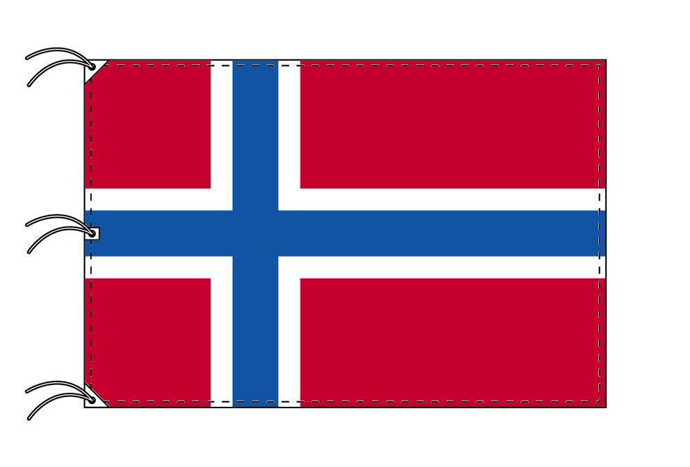 世界の国旗 ノルウェー国旗[200×300cm・高級テトロン製]NO.6号