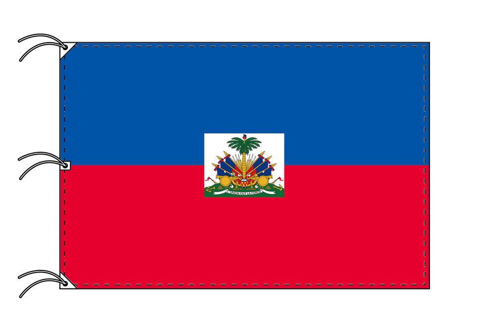 世界の国旗 ハイチ国旗[200×300cm・高級テトロン製]NO.6号