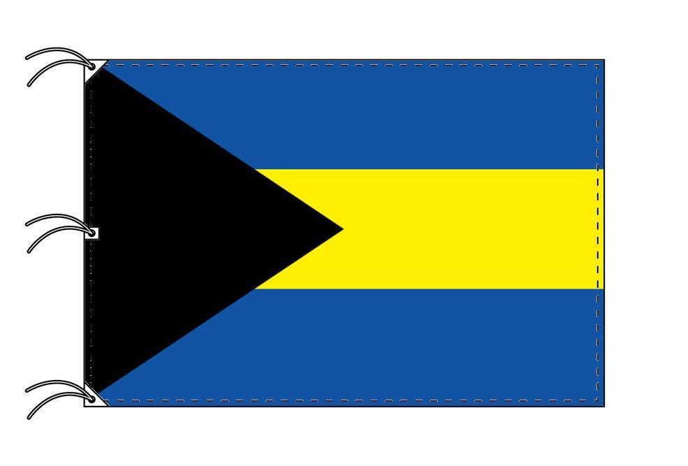 世界の国旗 バハマ国旗[180×270cm・高級テトロン製]NO.5号