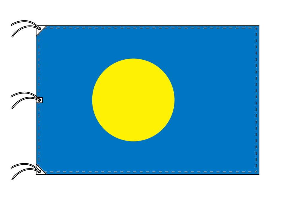 世界の国旗 パラオ国旗[200×300cm・高級テトロン製]NO.6号