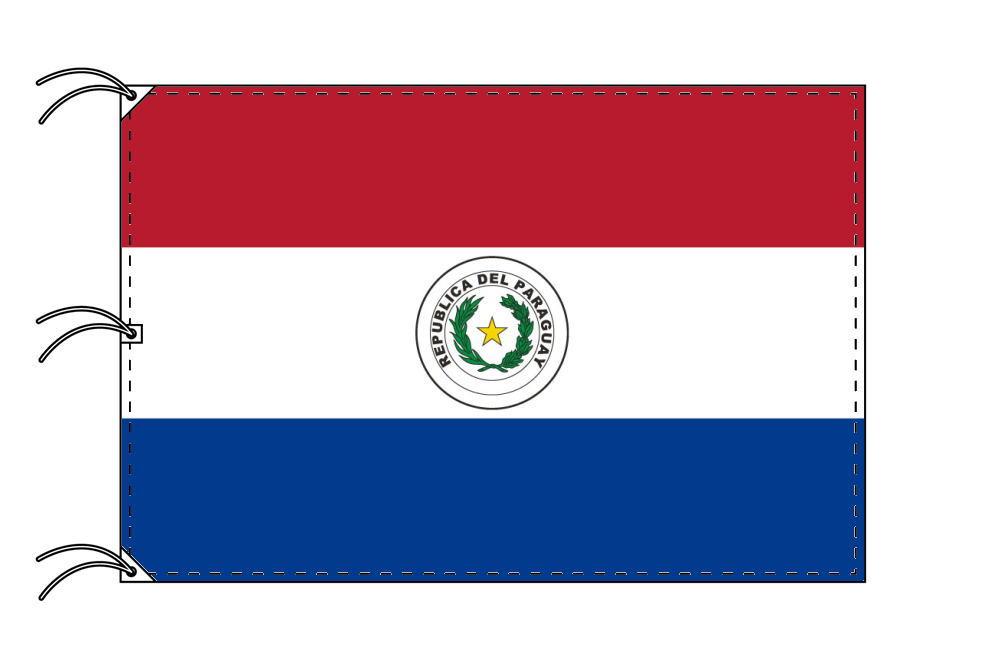 世界の国旗 パラグアイ国旗[140×210cm・高級テトロン製]【smtb-u】