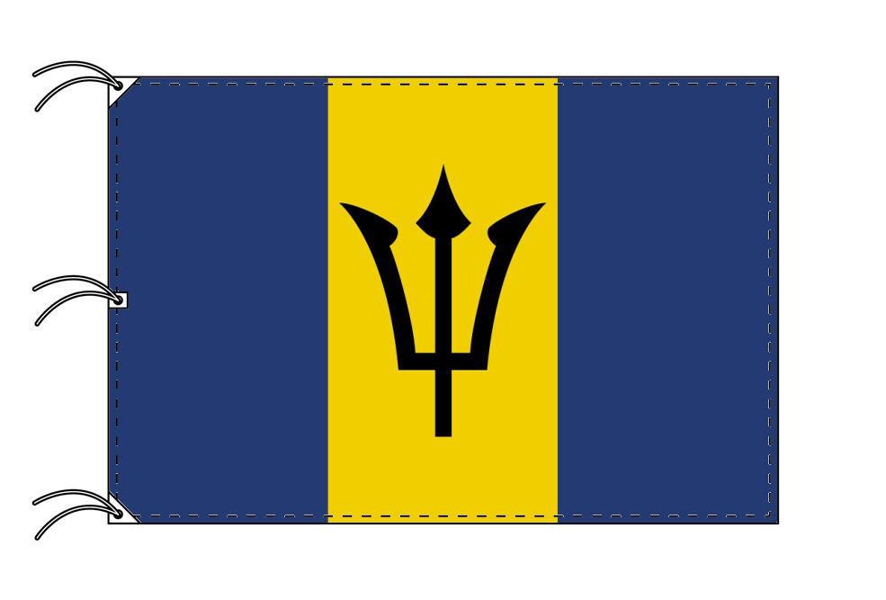 世界の国旗 バルバドス国旗[200×300cm・高級テトロン製]NO.6号
