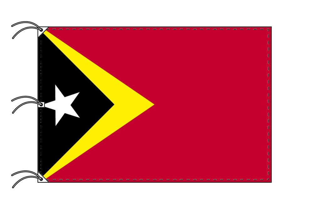 世界の国旗 東ティモール国旗[200×300cm・高級テトロン製]NO.6号