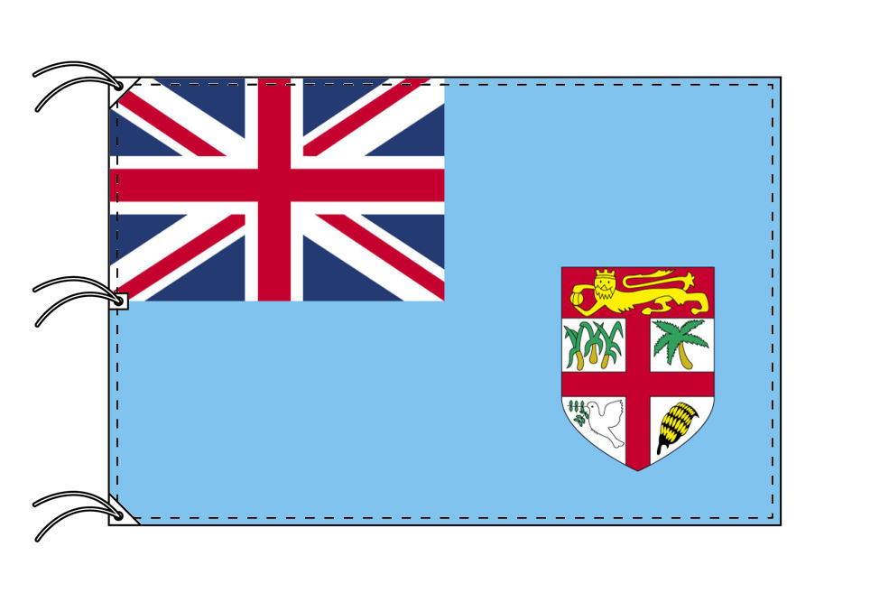 世界の国旗 フィジー諸島国旗[200×300cm・高級テトロン製]NO.6号