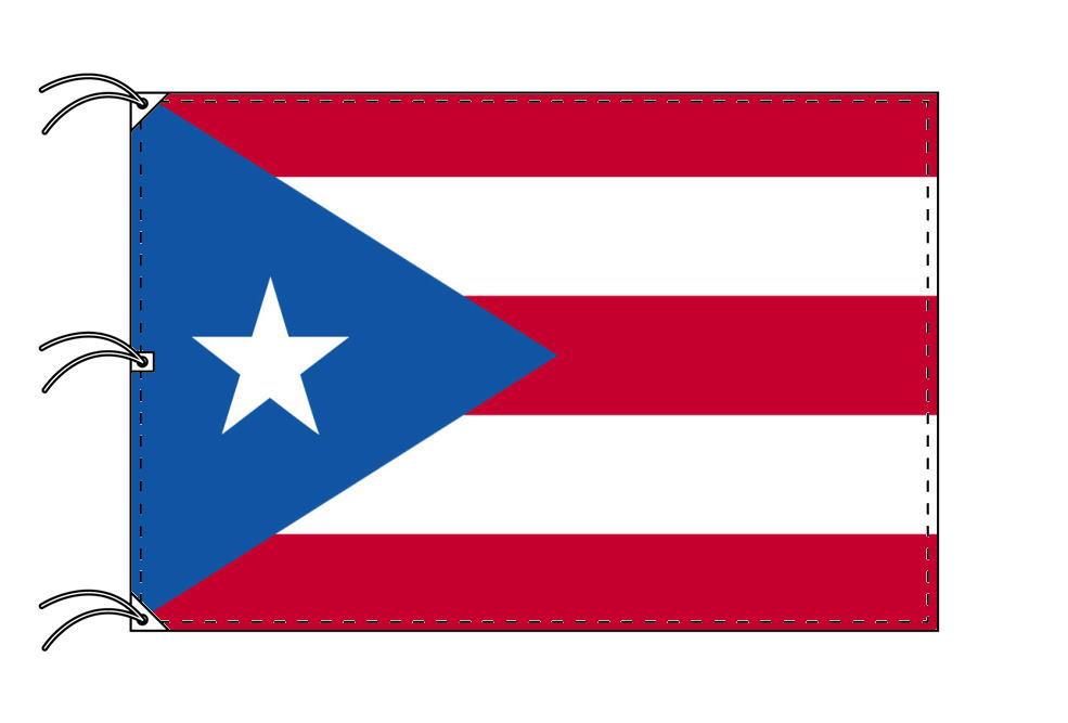 世界の国旗 プエルトリコ国旗[200×300cm・高級テトロン製]NO.6号