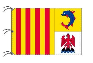 プロヴァンス=アルプ=コート・ダジュール地域圏 フランス地域圏の旗・州旗(140×210cm)