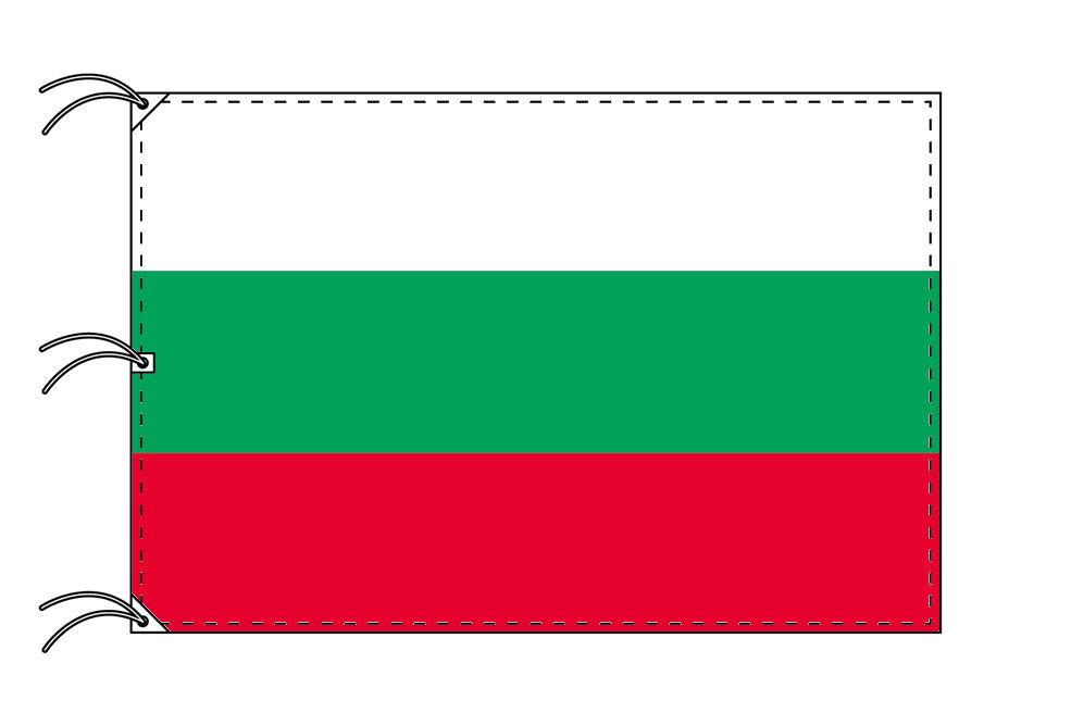 世界の国旗 ブルガリア国旗[200×300cm・高級テトロン製]NO.6号
