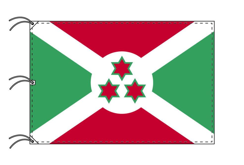世界の国旗 ブルンジ国旗[200×300cm・高級テトロン製]NO.6号