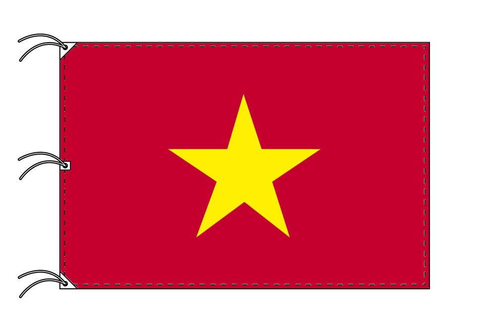 世界の国旗 ベトナム国旗[200×300cm・高級テトロン製]NO.6号