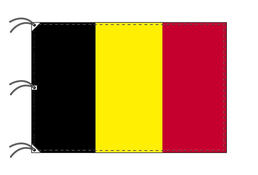 世界の国旗 ベルギー国旗[200×300cm・高級テトロン製]NO.6号
