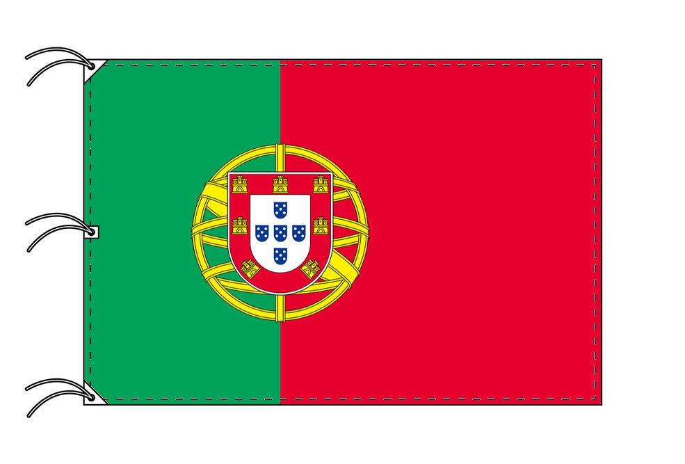 世界の国旗 ポルトガル国旗[200×300cm・高級テトロン製]NO.6号