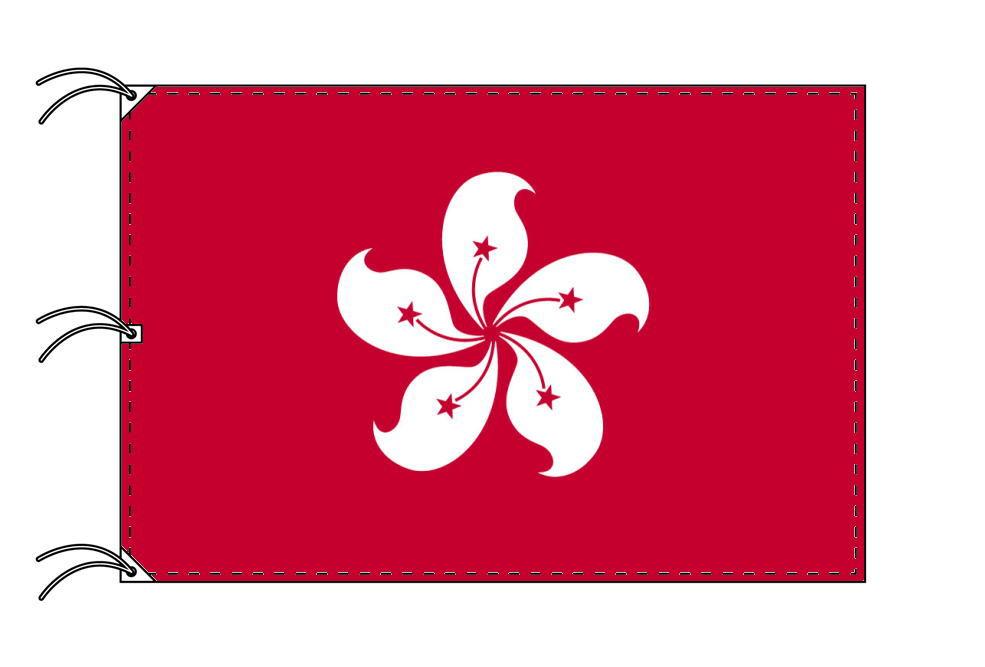 世界の国旗 香港[ホンコン]国旗[200×300cm・高級テトロン製]NO.6号