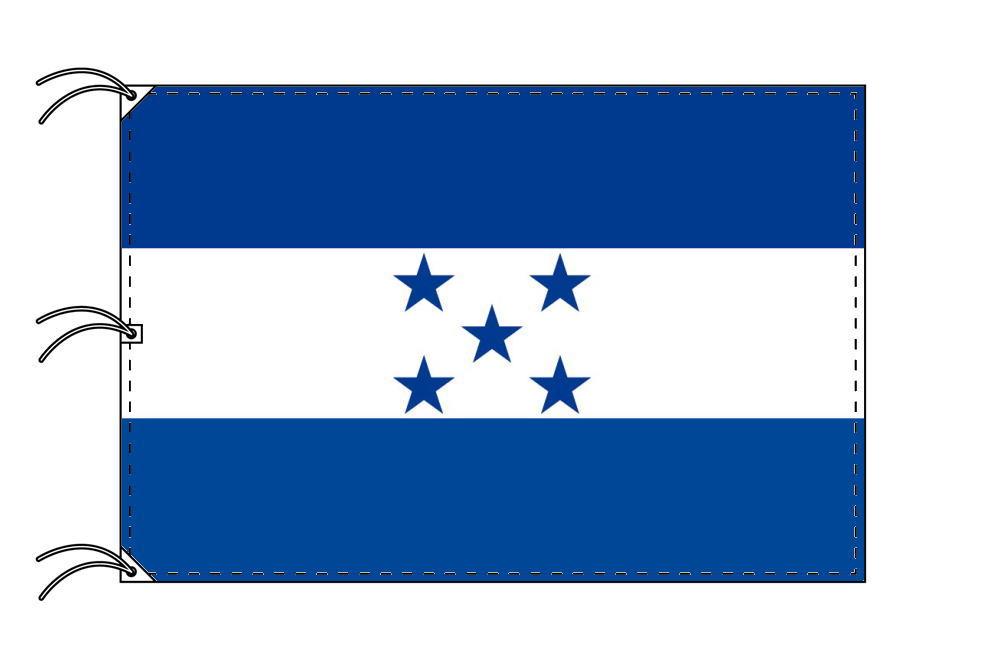 世界の国旗 ホンジュラス国旗[200×300cm・高級テトロン製]NO.6号
