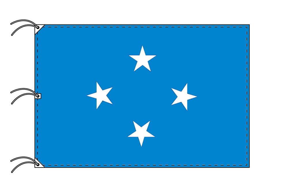 世界の国旗 ミクロネシア国旗[200×300cm・高級テトロン製]NO.6号